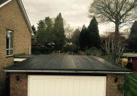 Flat roof after