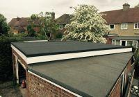 Flat roof and fascia after